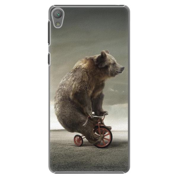 Plastové pouzdro iSaprio - Bear 01 - Sony Xperia E5