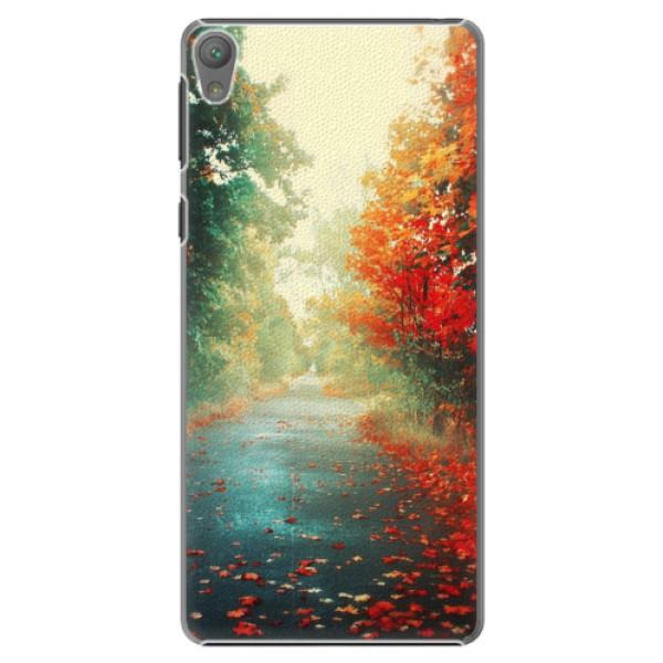 Plastové pouzdro iSaprio - Autumn 03 - Sony Xperia E5