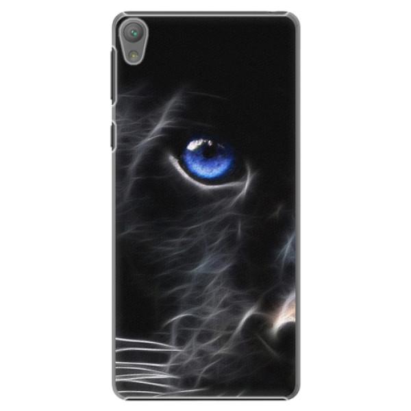 Plastové pouzdro iSaprio - Black Puma - Sony Xperia E5
