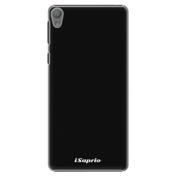 Plastové pouzdro iSaprio - 4Pure - černý - Sony Xperia E5