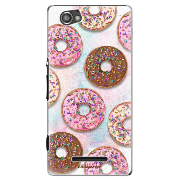 Plastové pouzdro iSaprio - Donuts 11 - Sony Xperia M