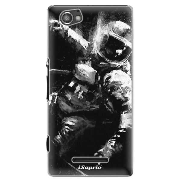 Plastové pouzdro iSaprio - Astronaut 02 - Sony Xperia M