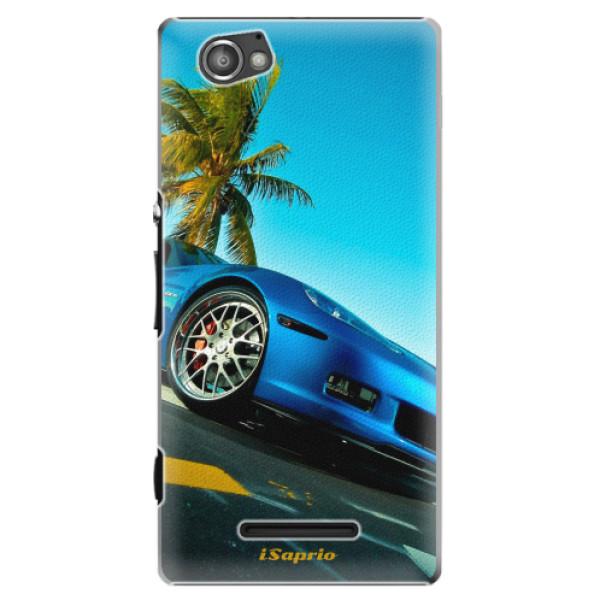 Plastové pouzdro iSaprio - Car 10 - Sony Xperia M