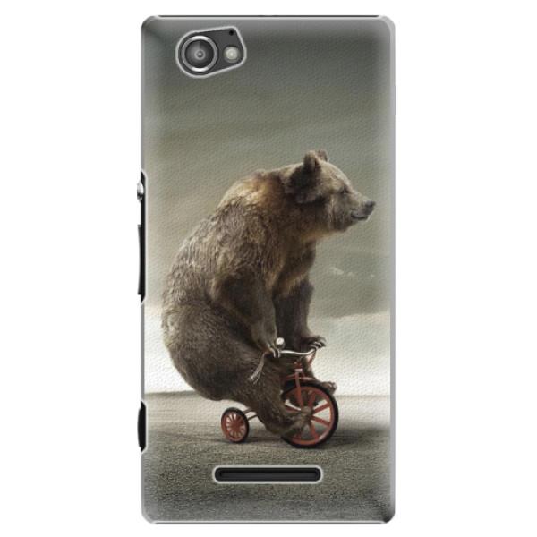 Plastové pouzdro iSaprio - Bear 01 - Sony Xperia M