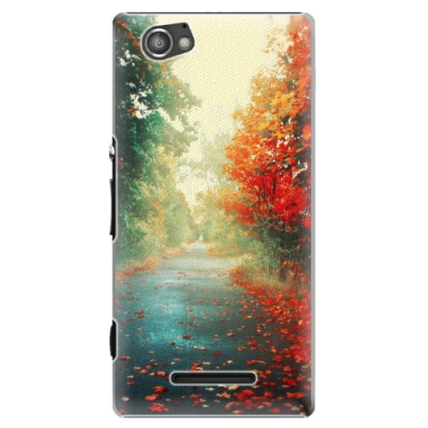 Plastové pouzdro iSaprio - Autumn 03 - Sony Xperia M