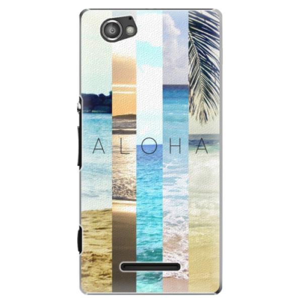 Plastové pouzdro iSaprio - Aloha 02 - Sony Xperia M