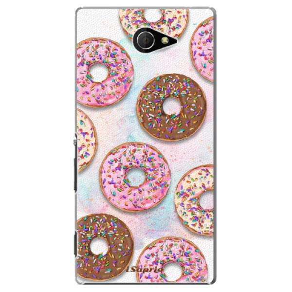 Plastové pouzdro iSaprio - Donuts 11 - Sony Xperia M2