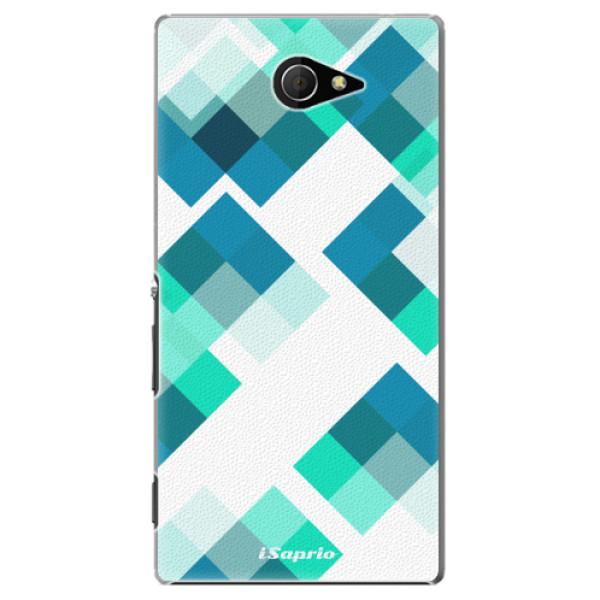 Plastové pouzdro iSaprio - Abstract Squares 11 - Sony Xperia M2
