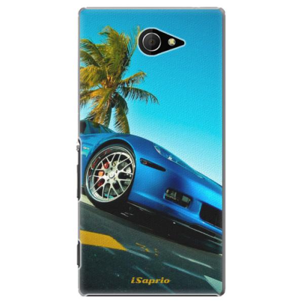 Plastové pouzdro iSaprio - Car 10 - Sony Xperia M2