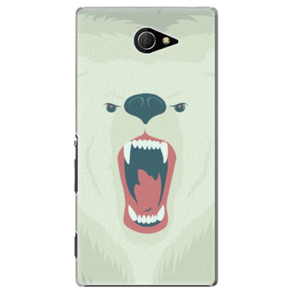 Plastové pouzdro iSaprio - Angry Bear - Sony Xperia M2