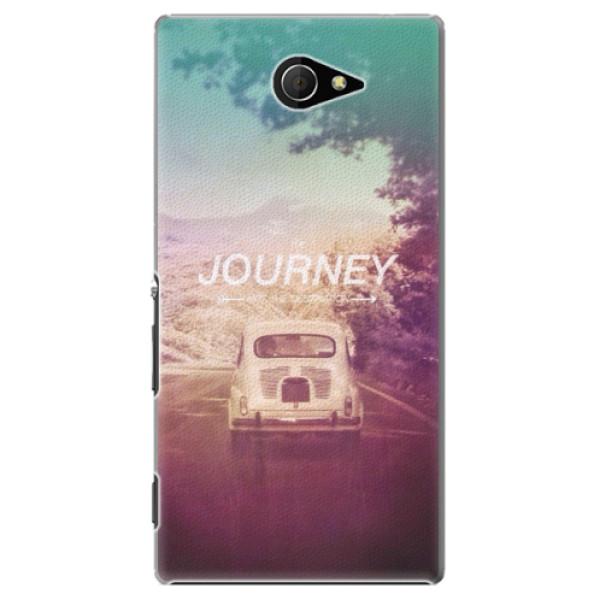 Plastové pouzdro iSaprio - Journey - Sony Xperia M2