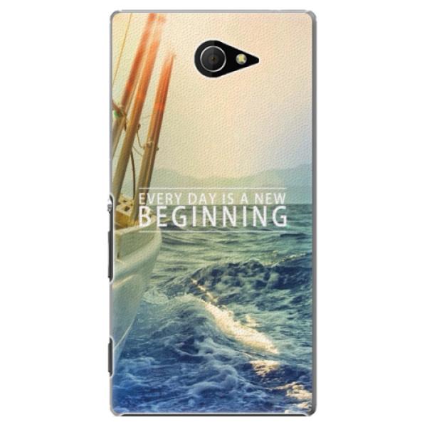Plastové pouzdro iSaprio - Beginning - Sony Xperia M2