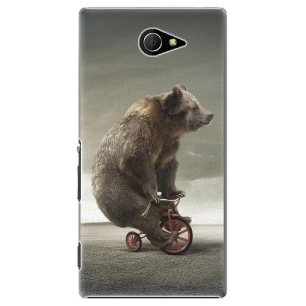 Plastové pouzdro iSaprio - Bear 01 - Sony Xperia M2