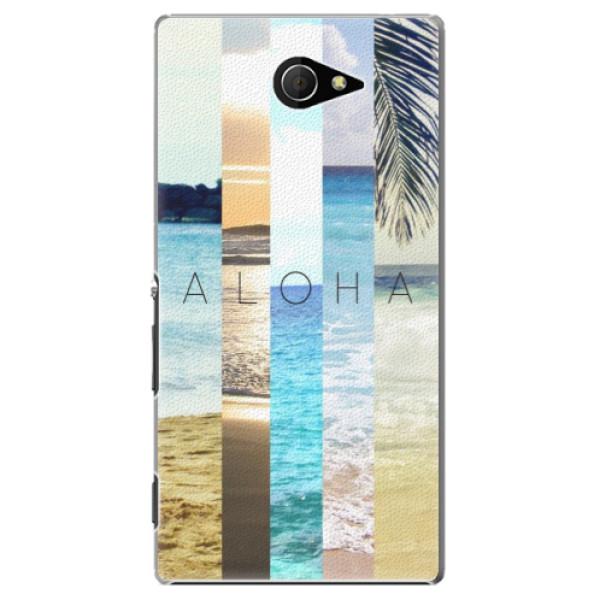 Plastové pouzdro iSaprio - Aloha 02 - Sony Xperia M2