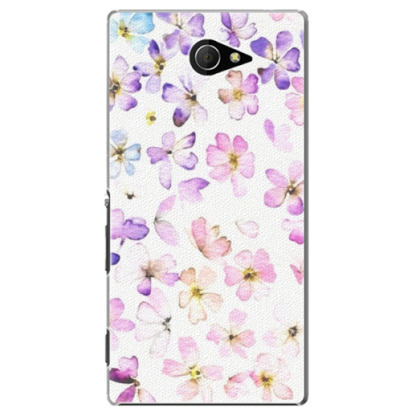 Plastové pouzdro iSaprio - Wildflowers - Sony Xperia M2
