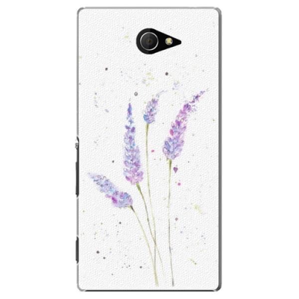 Plastové pouzdro iSaprio - Lavender - Sony Xperia M2