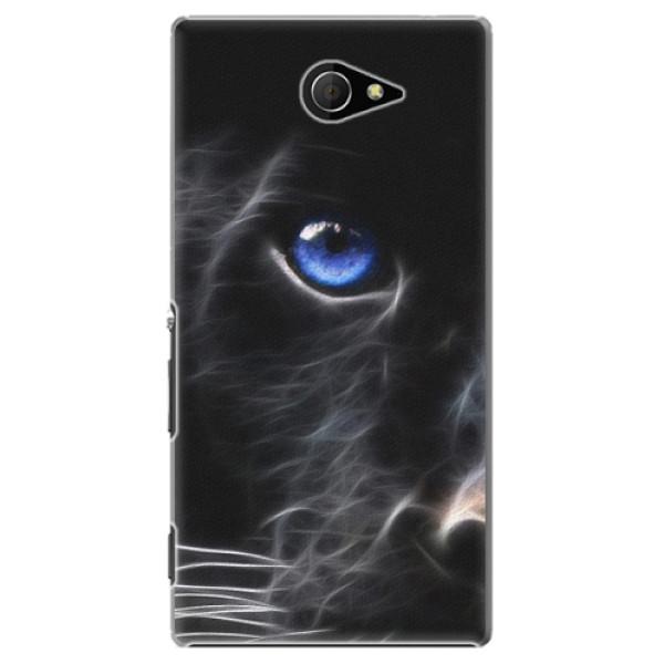 Plastové pouzdro iSaprio - Black Puma - Sony Xperia M2