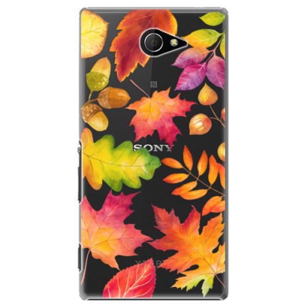 Plastové pouzdro iSaprio - Autumn Leaves 01 - Sony Xperia M2
