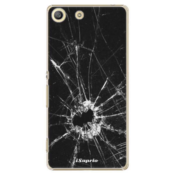 Plastové pouzdro iSaprio - Broken Glass 10 - Sony Xperia M5