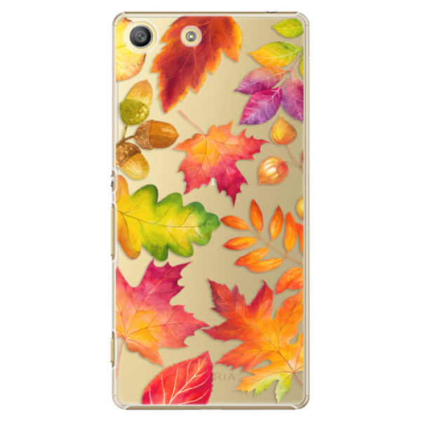 Plastové pouzdro iSaprio - Autumn Leaves 01 - Sony Xperia M5