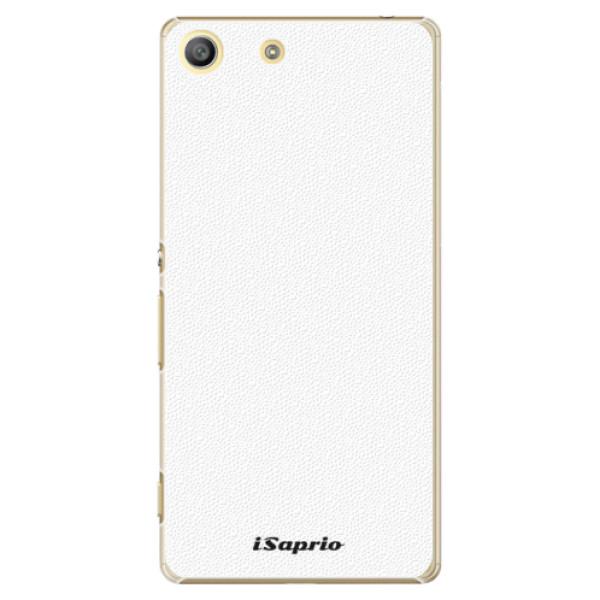 Plastové pouzdro iSaprio - 4Pure - bílý - Sony Xperia M5
