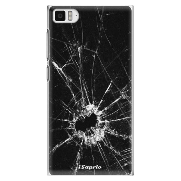 Plastové pouzdro iSaprio - Broken Glass 10 - Xiaomi Mi3