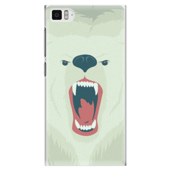 Plastové pouzdro iSaprio - Angry Bear - Xiaomi Mi3