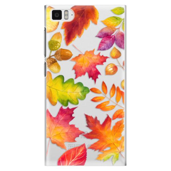 Plastové pouzdro iSaprio - Autumn Leaves 01 - Xiaomi Mi3
