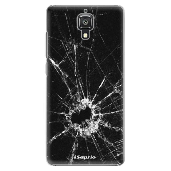 Plastové pouzdro iSaprio - Broken Glass 10 - Xiaomi Mi4