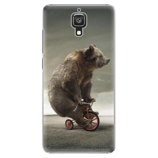 Plastové pouzdro iSaprio - Bear 01 - Xiaomi Mi4