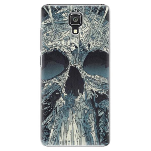 Plastové pouzdro iSaprio - Abstract Skull - Xiaomi Mi4