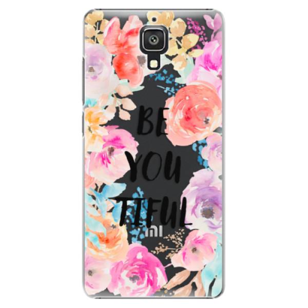 Plastové pouzdro iSaprio - BeYouTiful - Xiaomi Mi4