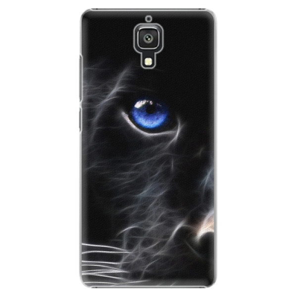 Plastové pouzdro iSaprio - Black Puma - Xiaomi Mi4