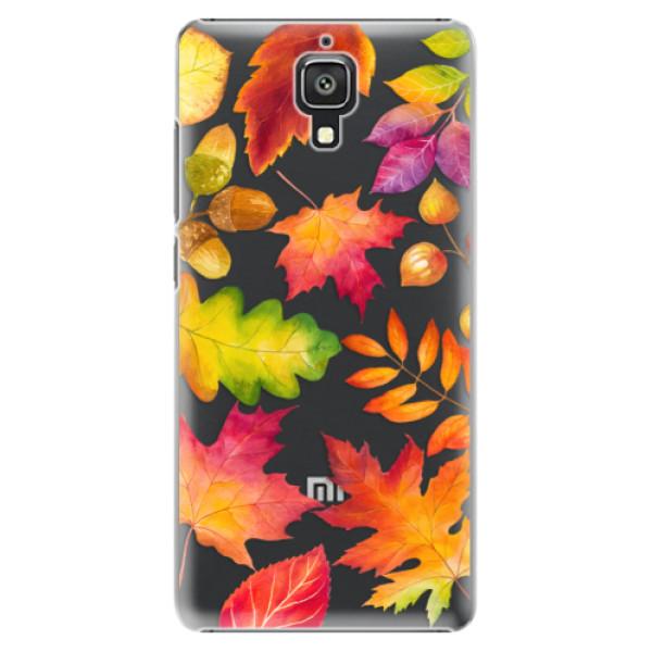 Plastové pouzdro iSaprio - Autumn Leaves 01 - Xiaomi Mi4