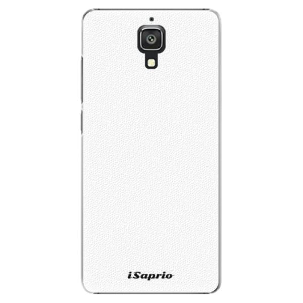 Plastové pouzdro iSaprio - 4Pure - bílý - Xiaomi Mi4