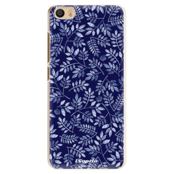 Plastové pouzdro iSaprio - Blue Leaves 05 - Xiaomi Mi5