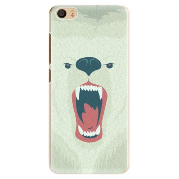 Plastové pouzdro iSaprio - Angry Bear - Xiaomi Mi5