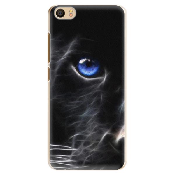 Plastové pouzdro iSaprio - Black Puma - Xiaomi Mi5