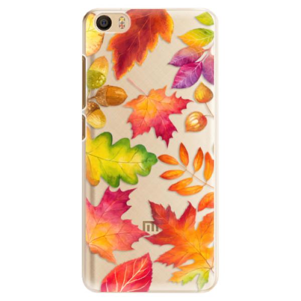Plastové pouzdro iSaprio - Autumn Leaves 01 - Xiaomi Mi5