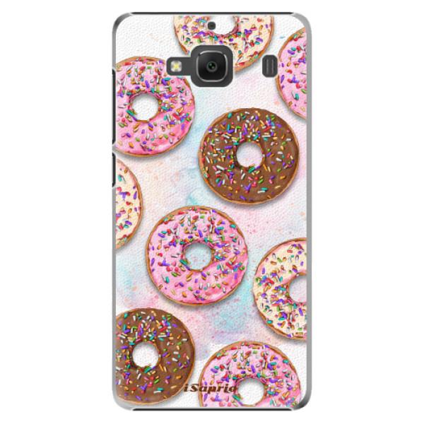 Plastové pouzdro iSaprio - Donuts 11 - Xiaomi Redmi 2