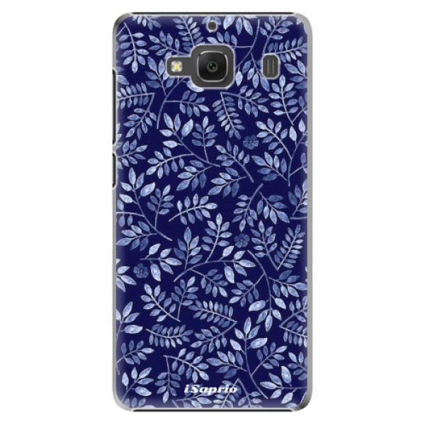 Plastové pouzdro iSaprio - Blue Leaves 05 - Xiaomi Redmi 2