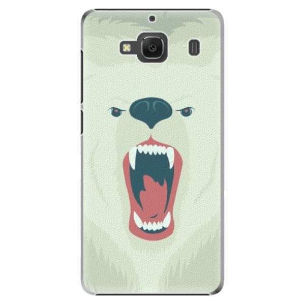 Plastové pouzdro iSaprio - Angry Bear - Xiaomi Redmi 2