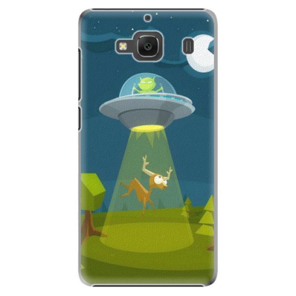 Plastové pouzdro iSaprio - Alien 01 - Xiaomi Redmi 2