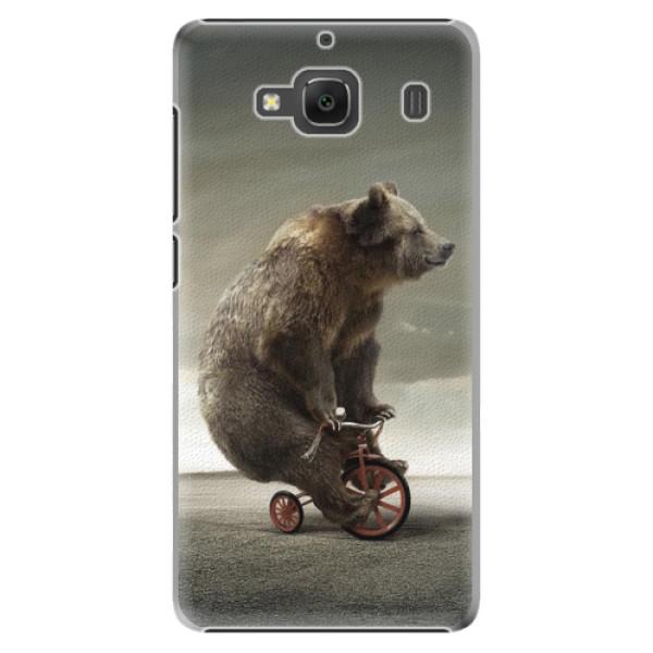 Plastové pouzdro iSaprio - Bear 01 - Xiaomi Redmi 2