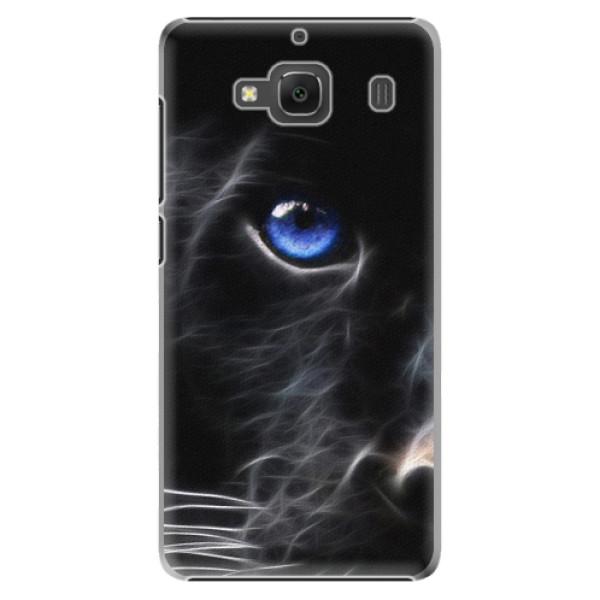 Plastové pouzdro iSaprio - Black Puma - Xiaomi Redmi 2
