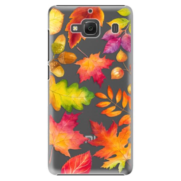 Plastové pouzdro iSaprio - Autumn Leaves 01 - Xiaomi Redmi 2