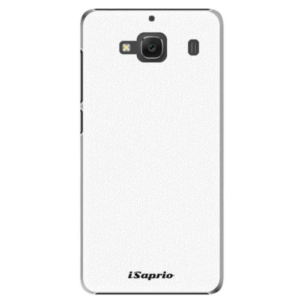 Plastové pouzdro iSaprio - 4Pure - bílý - Xiaomi Redmi 2