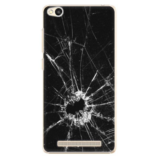Plastové pouzdro iSaprio - Broken Glass 10 - Xiaomi Redmi 3