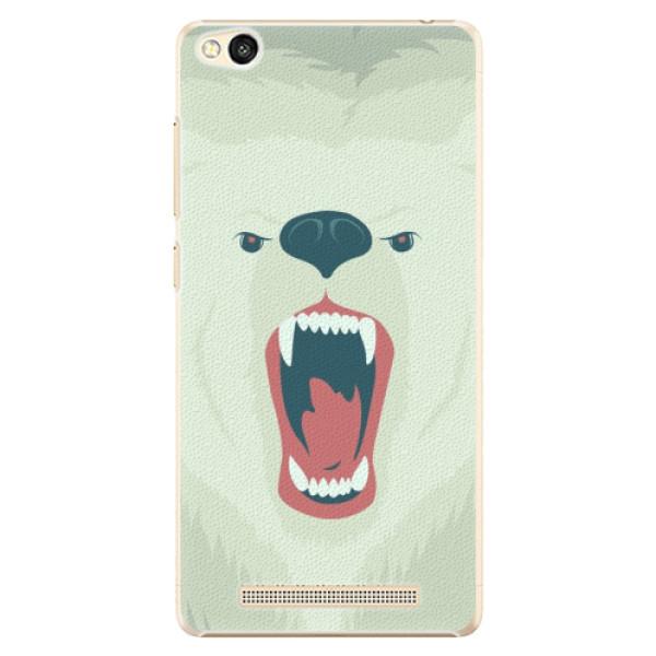 Plastové pouzdro iSaprio - Angry Bear - Xiaomi Redmi 3
