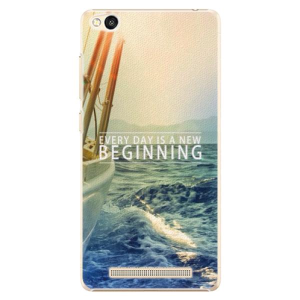 Plastové pouzdro iSaprio - Beginning - Xiaomi Redmi 3
